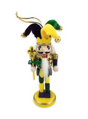 Mardi Gras Nutcracker Ornament