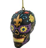 Day Of The Dead Skull Ornament