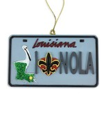 NOLA License Plate Ornament