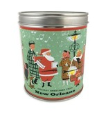 Santa & Shoppers New Orleans Christmas Candle