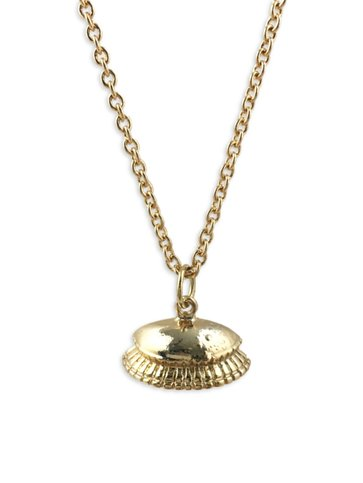 Dome Necklace in Gold