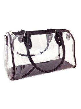 Clear Tote With Adjustable Shoulder Strap