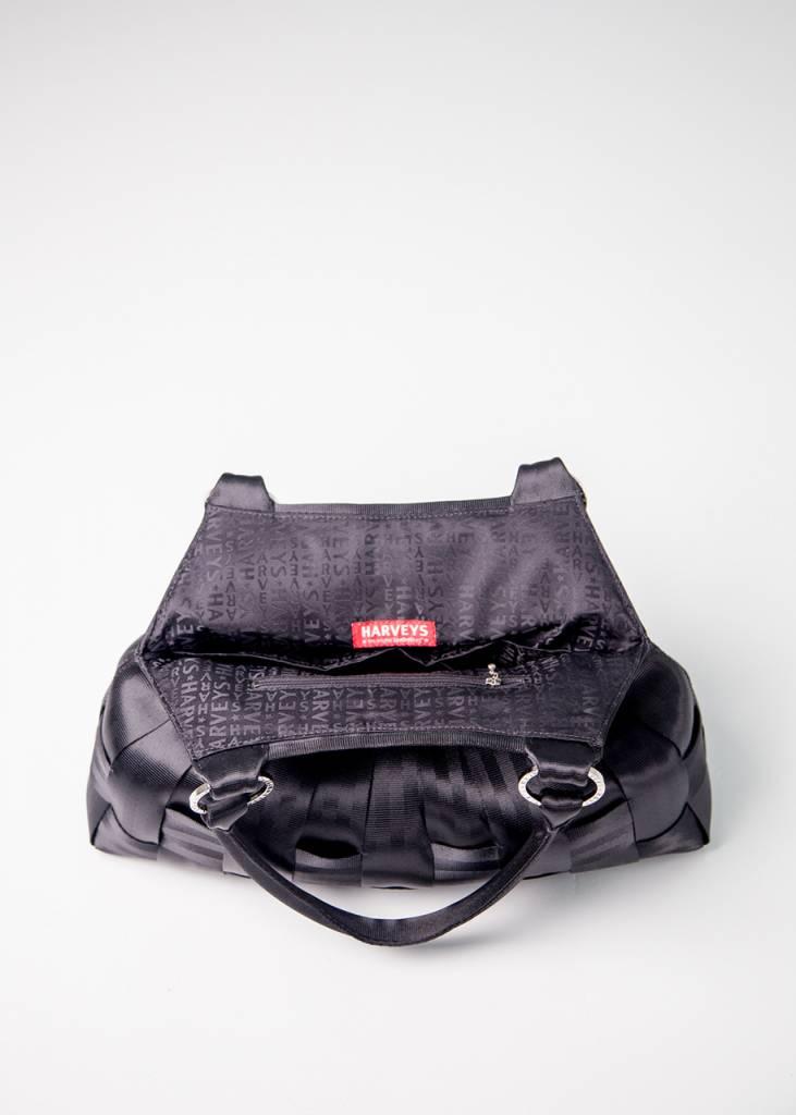 Harveys Harveys Seatbelt Stella Large Hobo Bag, Black