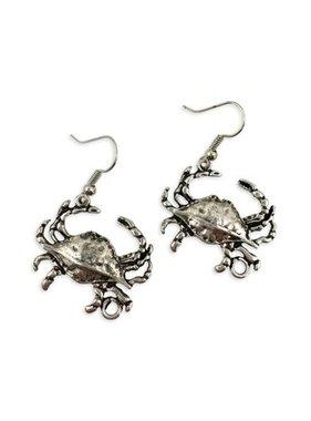 Earring, Crab Earrings