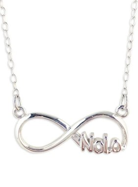 Sterling Silver NOLA Infinity Necklace