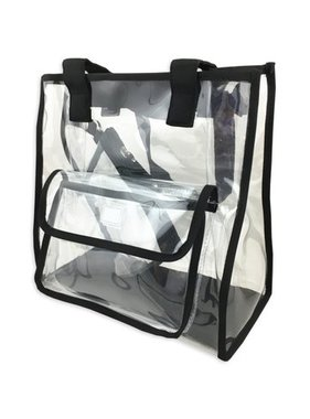 Clear 2-in-1 Tote Bag