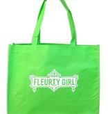 Fleurty Girl Reusable Bag