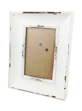 Home, Distressed White Frame