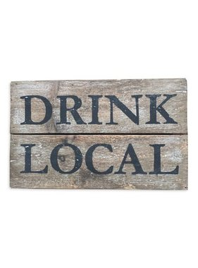 Drink Local Wall Art