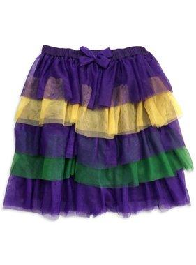Mardi Gras Tulle Skirt