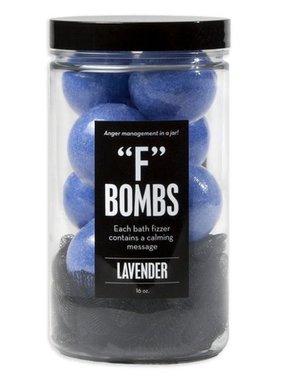 """Gift, Bath Bomb, Jar, """"F"""" Bomb"""