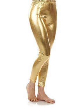 Metallic Gold Leggings