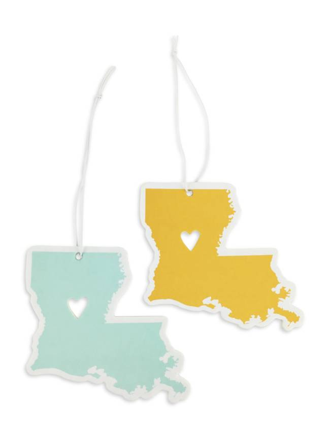 Louisiana Love Car Air Fresheners