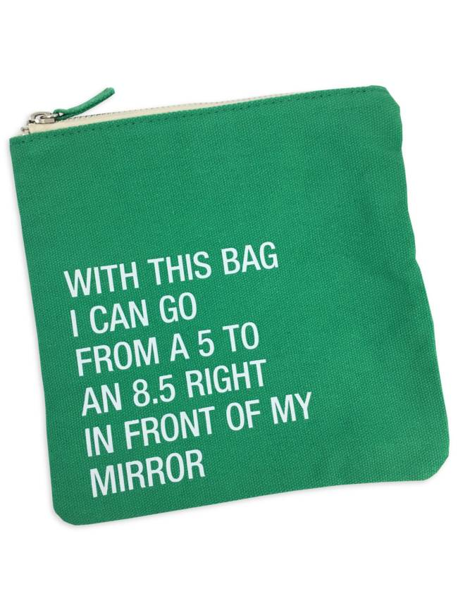 Cosmetic Bag, Go From a 5 to 8.5