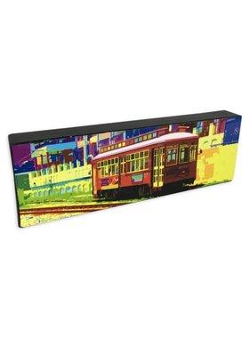 Nola Scenes Wall Art, Canal Streetcar