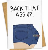 Greeting Card, Back It Up