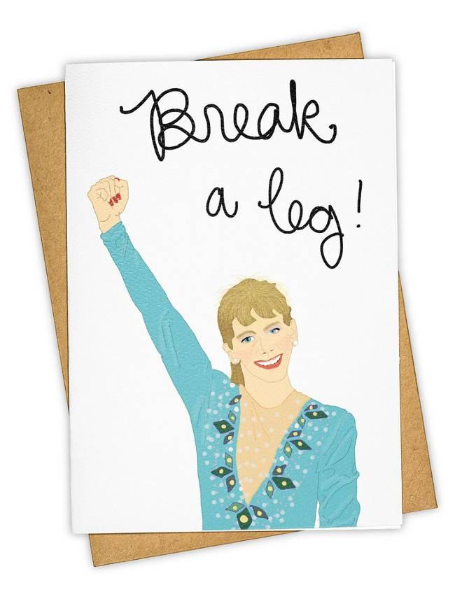 Greeting Card, Break A Leg