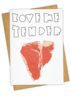 Greeting Card, Love Me Tender