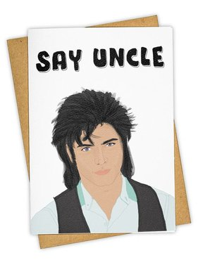 Greeting Card, Say Uncle