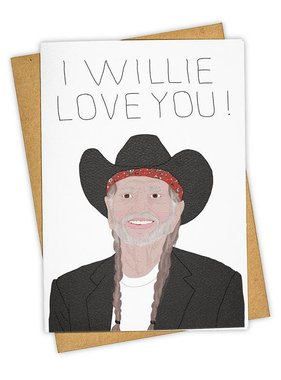 Greeting Card, I Willie Love You