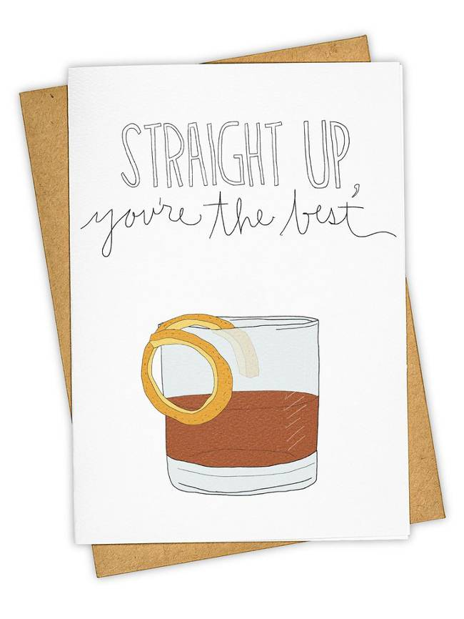 Greeting Card, Straight Up
