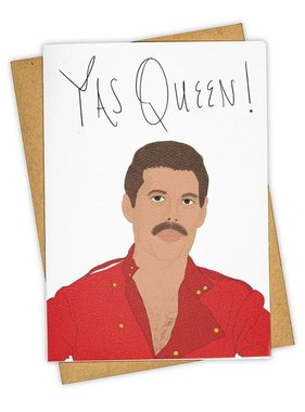 Greeting Card, Yas Queen