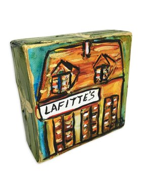 Mini Paintings by Jax, Lafitte's Blacksmith Shop