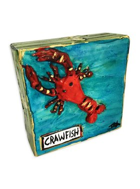 Mini Paintings by Jax, Crawfish