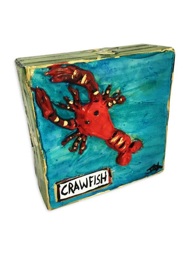 Mini Paintings by Jax, Crawfish