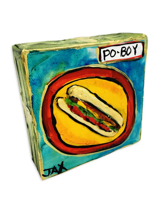 Mini Paintings by Jax, PoBoy
