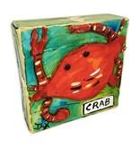 Mini Paintings by Jax, Crab