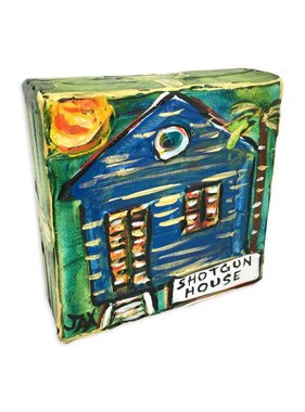 Mini Paintings by Jax, Shotgun House