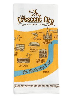 Crescent City Kitchen Towel