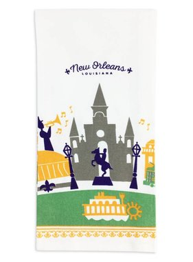 NOLA View Kitchen Towel