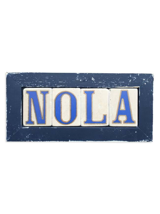 Preservation Tile Co Nola Framed Tiles