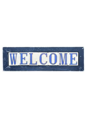 Welcome Framed Tiles
