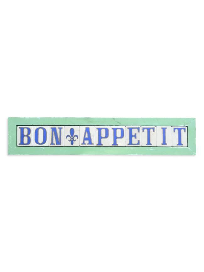 Bon Appetit Framed Tiles