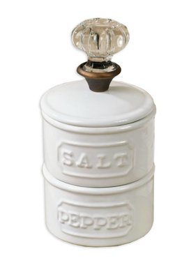 Door Knob Salt Cellar Set