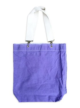 Purple Canvas Tote