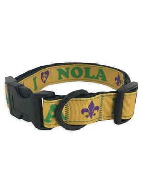 Mardi Gras Pet Collar