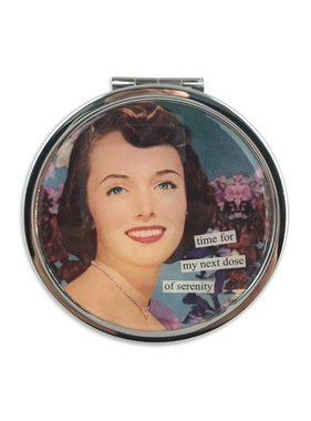 Dose Of Serenity Pill Box Compact by Anne Taintor