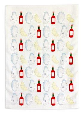 Oyster Flour Sack Towel