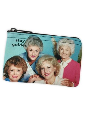 Stay Golden Zipper Pouch