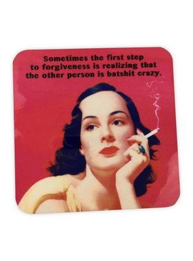 Cork Coaster, Forgiveness