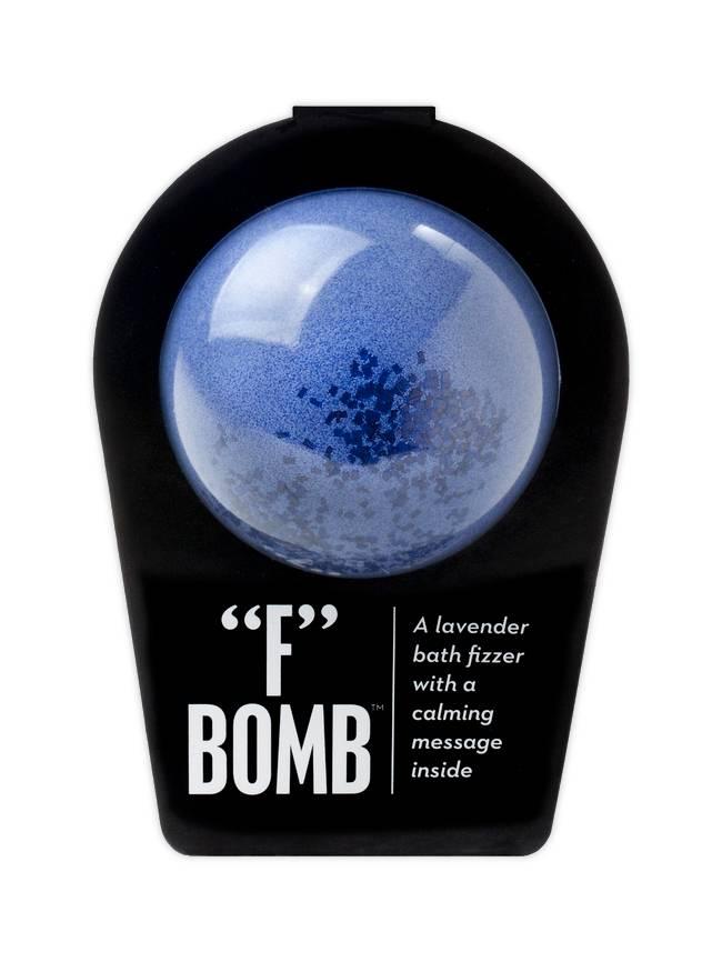 """""""F"""" Bomb Bath Fizzer"""