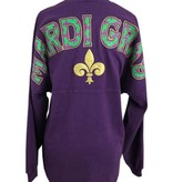 Mardi Gras Spirit Jersey, Purple