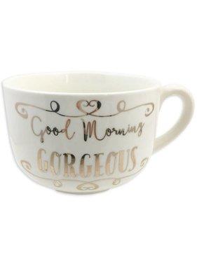 Good Morning Gorgeous Oversized Mug