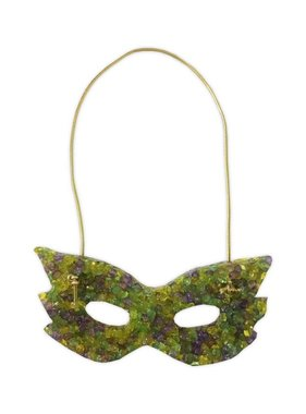 Mardi Gras Mask Mini Air Freshener