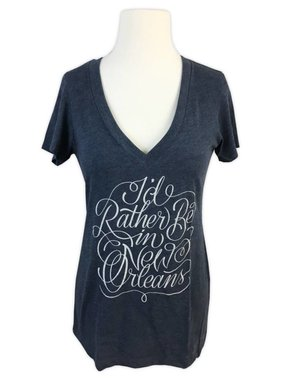 I'd Rather Be In New Orleans Tee