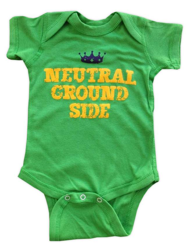 Neutral Ground Side Onesie